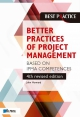 Better Practices of Project Management Based on IPMA competences th revised edition