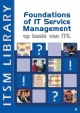 foundations of it service management op basis van itilv paperback