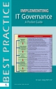 Implementing IT Governance A Pocket Guide
